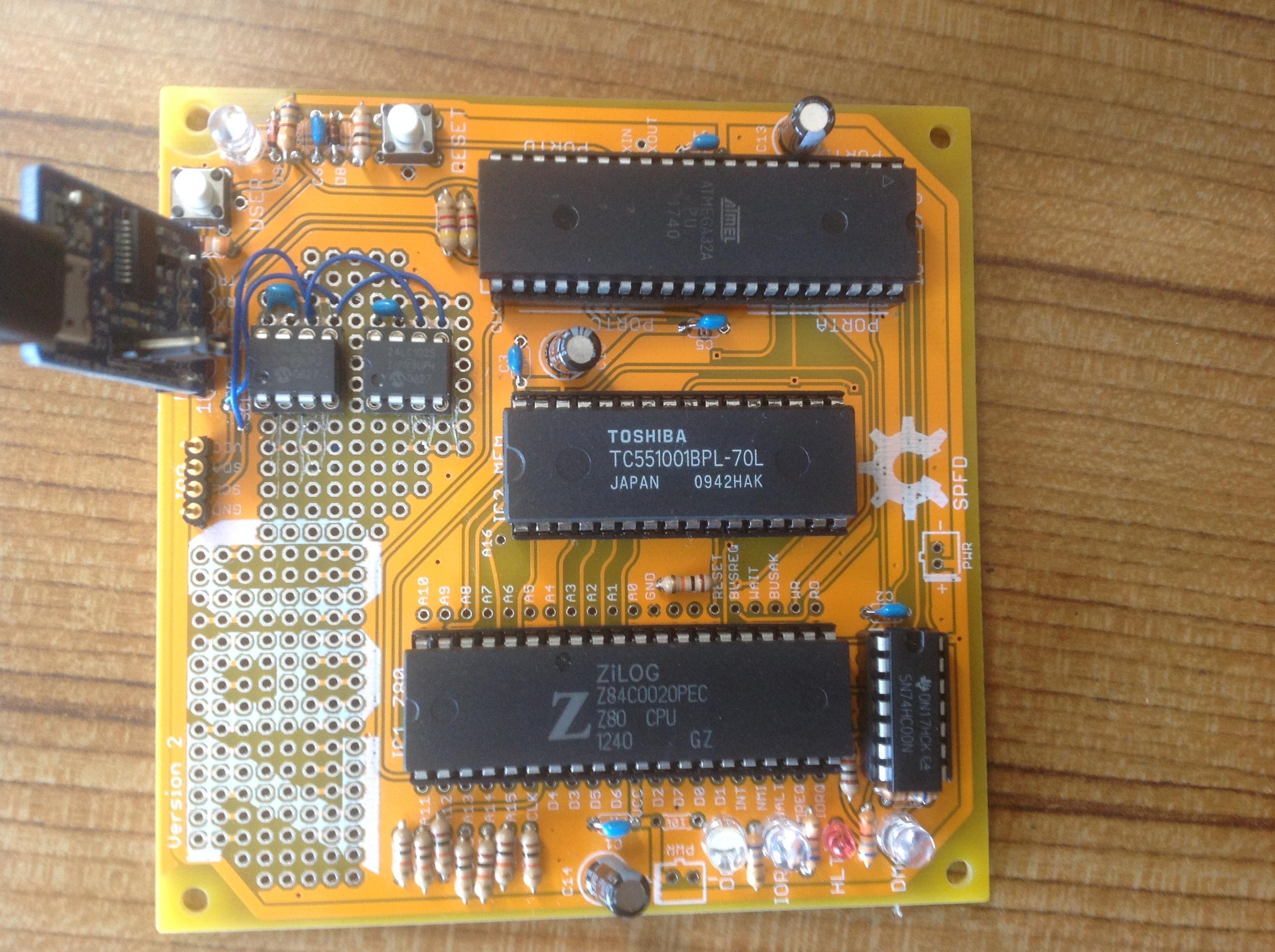 CP/M] Z80-MBC のボード | My_blog 手作りで楽しむ